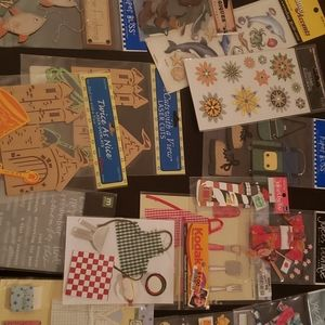Scrapbook sticker lot
